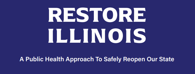 Governor Pritzker's 5 phase plan to reopen Illinois